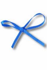 Lint Satijn 10m x 3mm Koningsblauw