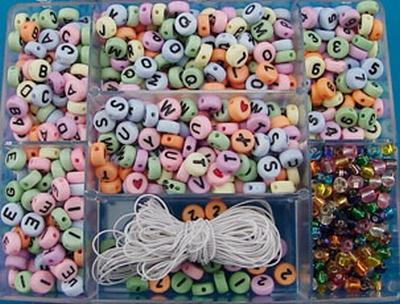 alpha beads 500 pcs.