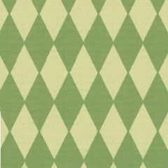 722 Scrapbookvel Fantasia 302x302 mm, Ruit groen
