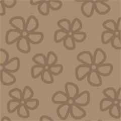 782 Scrapbookvel Fantasia 302x302 mm, Bloem bruin