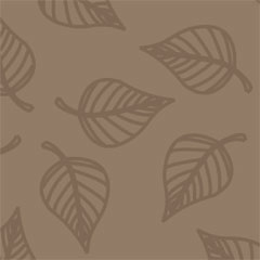 783 Scrapbookvel Fantasia 302x302 mm, Blad bruin