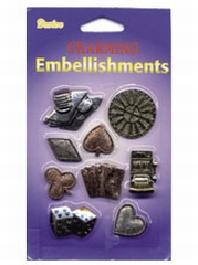 Embel Brass charm roll the dice