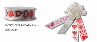 Lint heartbeats wire edge 25mm