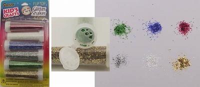 Glitter shaker 6 colors