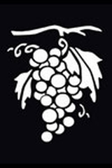 Embossing stencil 8x6 cm.druiven