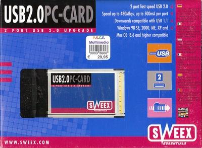 IUSB 2.0 PC-Card
