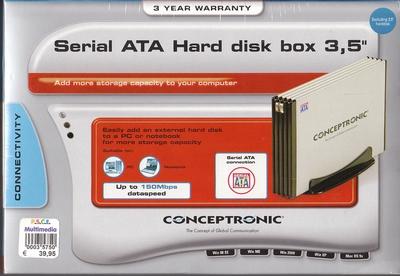 Serial ATA Hard disk box 3,5