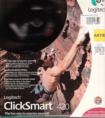 NetwLogitech ClickSmart 420 Webcam