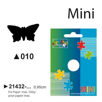 Picture punch mini 0,95 cm Vlinder