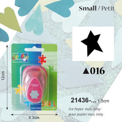 Picture Punch Small 1,5 cm Ster