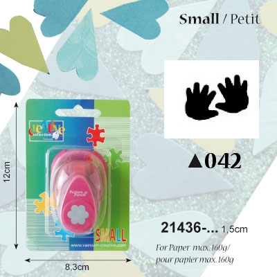 Picture Punch Small 1,5 cm Baby handjes
