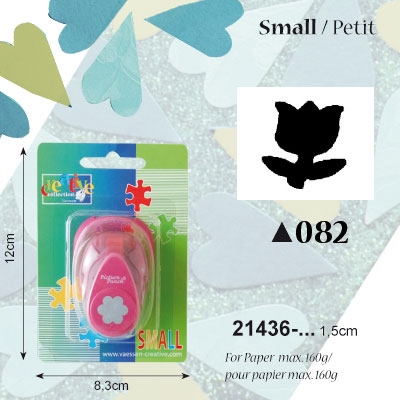 Picture Punch Small 1,5 cm Tulp
