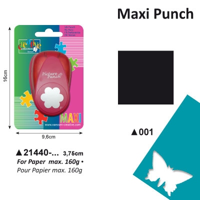 Picture Punch Maxi 3,75 cm Vierkant