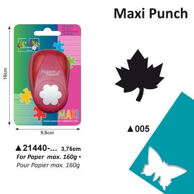 Picture Punch Maxi 3,75 cm Esdoornblad