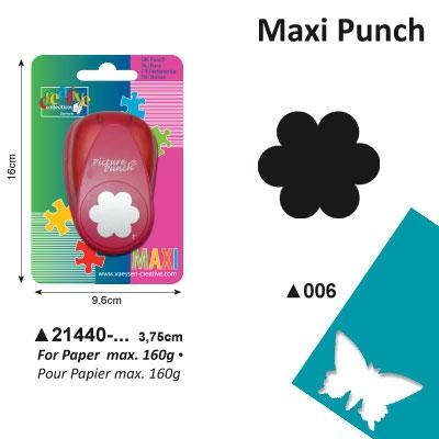Picture Punch Maxi 3,75 cm Bloem