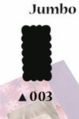 Picture Punch Jumbo 5 cm Label rechthoek