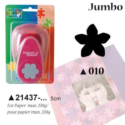 Picture Punch Jumbo 5 cm Bloem