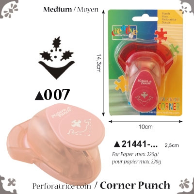Picture Punch Corner Medium 2,5 cm Hulst