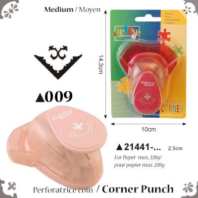Picture Punch Corner Medium 2,5 cm Krul