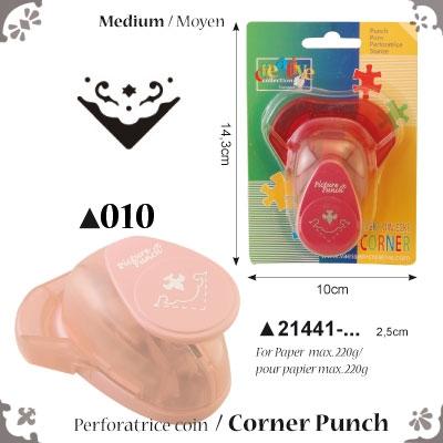 Picture Punch Corner Medium 2,5 cm Tulp