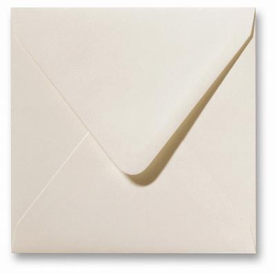03 Envelop 14x14 cm Fiore Ivoor