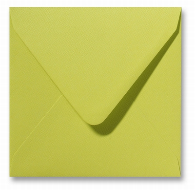 06 Envelop 14x14 cm Fiore Limoen