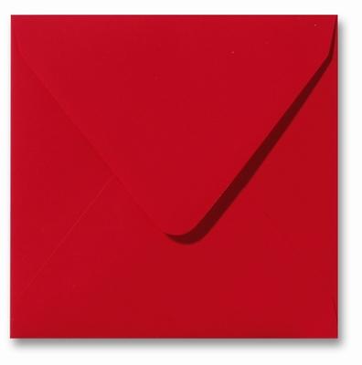 04 Envelop 14x14 cm Skin Rood