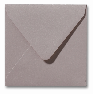 08 Envelop 14x14 cm Metallic Rose