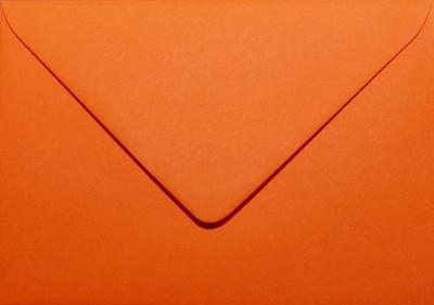 12 Envelop 11,0x15,6 CM Roma Donkeroranje