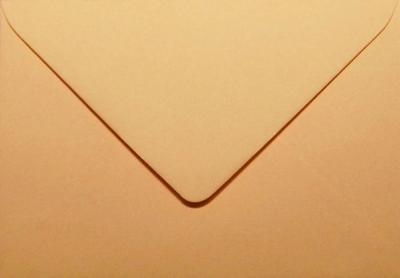 25 Envelop 11,0x15,6 CM Roma Abrikoos