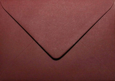 32 Envelop 11,0x15,6 CM Roma Donkerrood