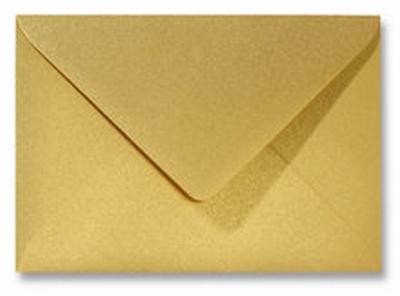 07 Envelop 11,0x15,6 CM Metallic Gold