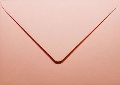 15 Envelop 15,6x22,0 CM Roma Lichtroze