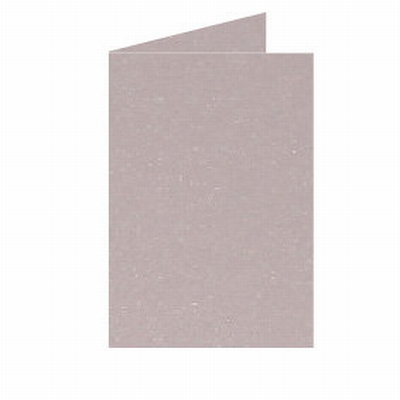 07 Metallic Dubbele kaart 15x10,5 CM Rose per stuk