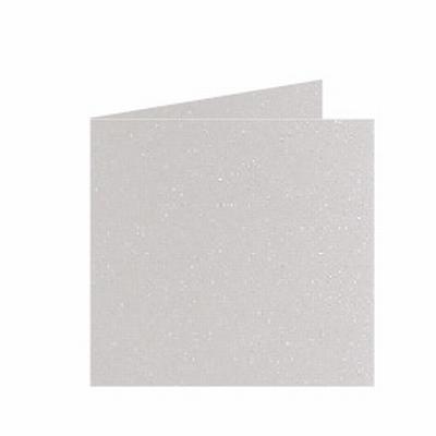 02 Metallic Dubbele kaart 15x15 CM Ivory per stuk