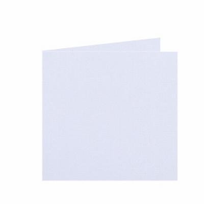 01 Dubbele kaart 13x13 CM Roma Wit