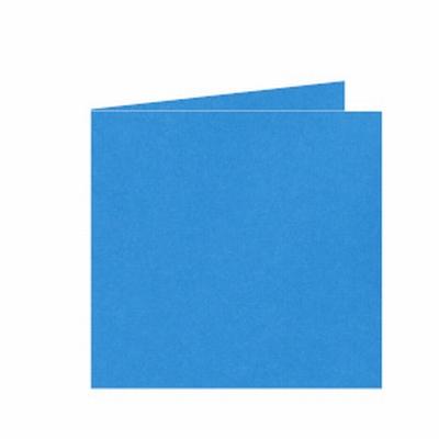 06 Dubbele kaart 13x13 CM Roma Koningsblauw