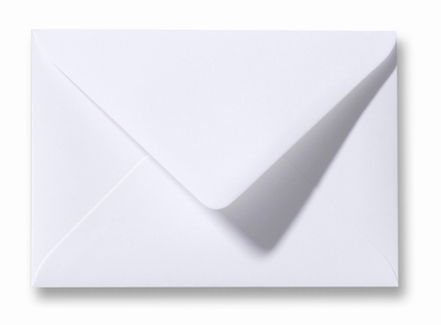 01 Envelop 8,0x11,4 cm Roma Wit