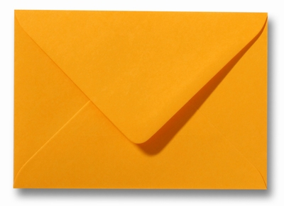 10 Envelop 8,0x11,4 cm Roma Goudgeel