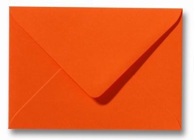 12 Envelop 8,0x11,4 cm Roma Donkeroranje