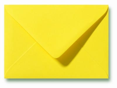 08 Envelop 9x14 cm Roma Kanariegeel