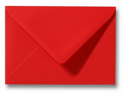 13 Envelop 9x14 cm Roma Koraalrood