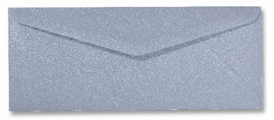 06 Envelop 9x22 CM Metallic Silver per stuk