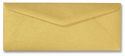 07 Envelop 9x22 CM Metallic Gold per stuk