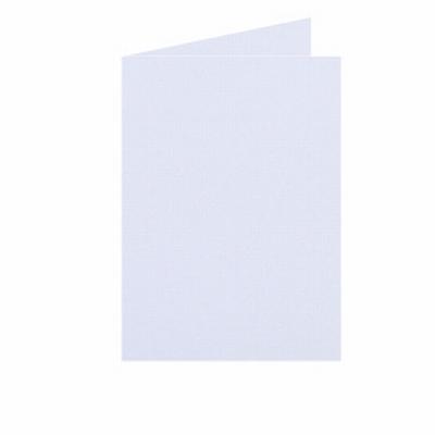 01 Dubbele kaart Staand 10,5x15 CM Roma Wit per stuk