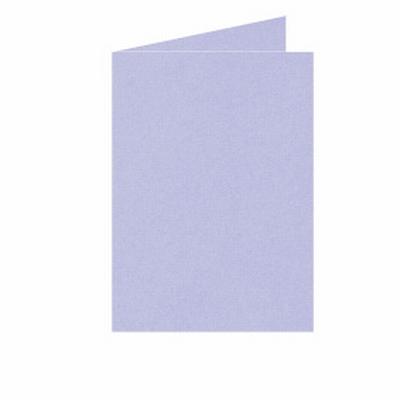 19 Dubbele kaart Staand 10,5x15 CM Roma Lavendel p.st.