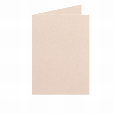 25 Dubbele kaart Staand 10,5x15 CM Roma Abrikoos p.st.
