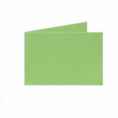 09 Dubb. kaart Liggend 15x10,5 cm Roma Appelgroen p.st.