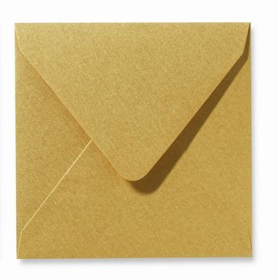 06 Envelop 16x16 cm Metallic Gold