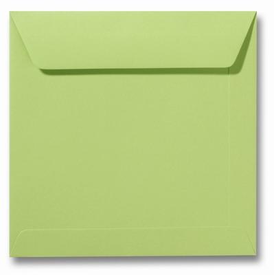 04 Envelop 17x17 cm Roma Lindegroen